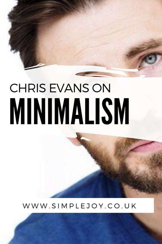 Find out how Chris Evans of Captain America fame inspired me to live a life of minimalism after my mental health breakdown. Simple Joy | Intentional Living Coach, Decluttering & Minimalism. Helping people find more joy & less overwhelm by decluttering their home & lives. #chrisevans #captainamerica #mentalhealth #minimalism #simplejoy